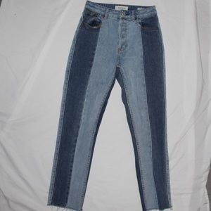 Pacsun Patched Mom Jeans